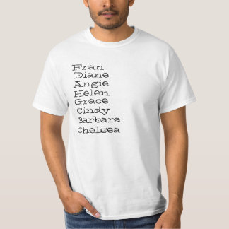 Yea..I did them all T-Shirt