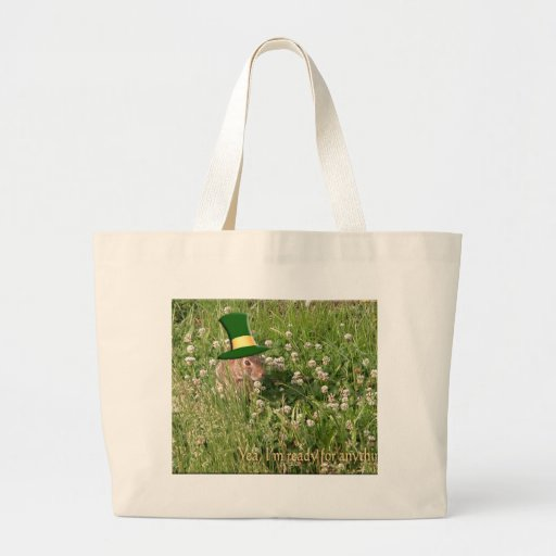 Yea, I'm ready for anything Canvas Bags