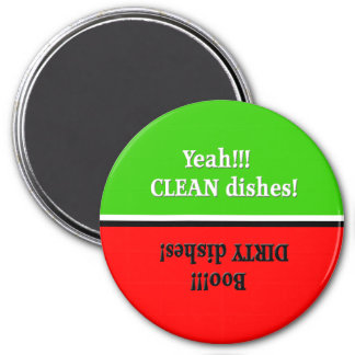 Yeah Clean/Boo Dirty- Red/Green Dishwasher Magnet