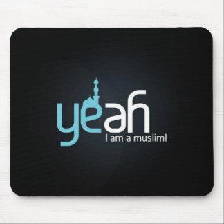 Yeah I Am Muslim!   Mousepad