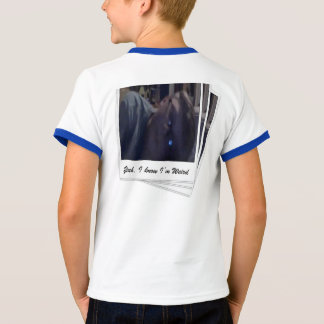 Yeah I know I am weird Shirt male