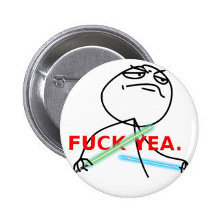 Yeah Jedi meme 6 Cm Round Badge