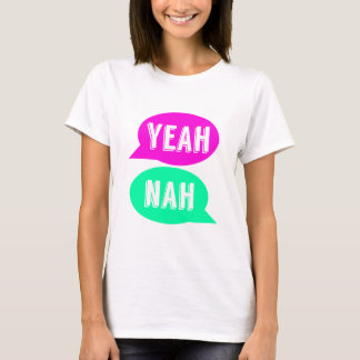 Yeah Nah Print T-shirt