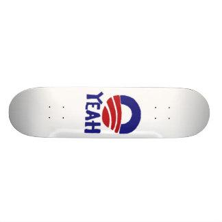 Yeah Obama 20 Cm Skateboard Deck