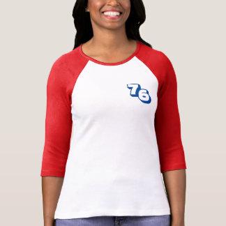Year 1976 Women's Red Raglan T-Shirt