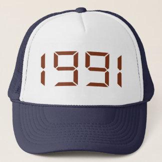 Year of birth - 1991 - Birthday Trucker Hat
