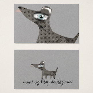 Year of the dog business card