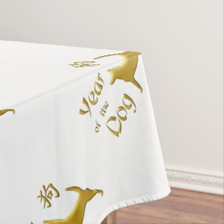 Year of the Dog - Chinese New Year Tablecloth