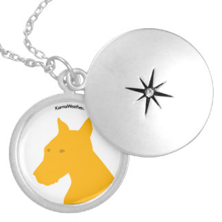 Year of the Dog Locket Necklace