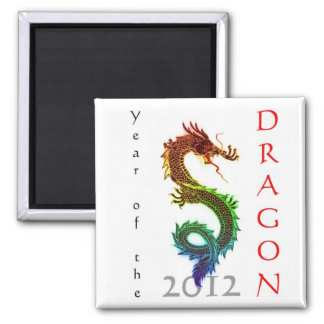Year of the Dragon 2012 Magnet