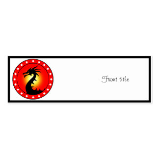 Year of the Dragon Business Card Template