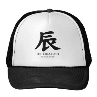 Year of the Dragon Mesh Hat