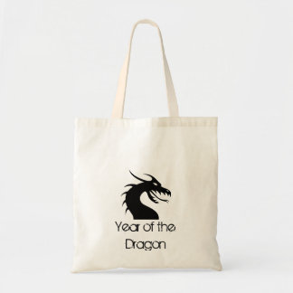 Year of the Dragon - Dragon Head Budget Tote Bag