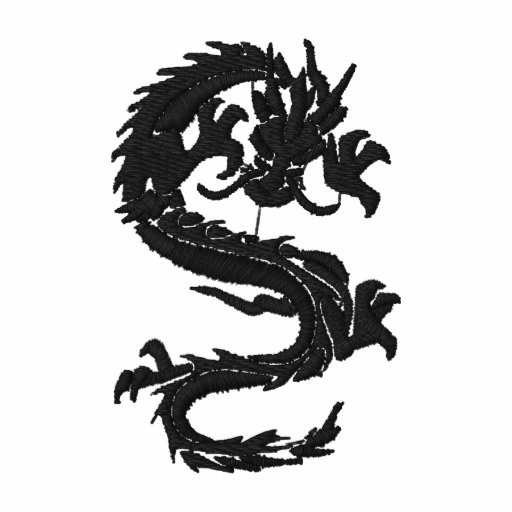 Year of The Dragon Embroidered Polo Shirt
