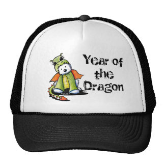 Year of the Dragon Westie Cap