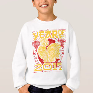 Year of the Fire Rooster 2017 Chinese Zodiac Sweatshirt