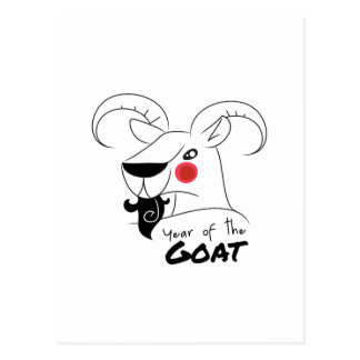 Year of the Goat Postcard