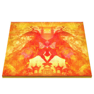 year of the goat Stretched Canvas Print