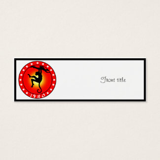 Year of the Monkey 1980 Mini Business Card