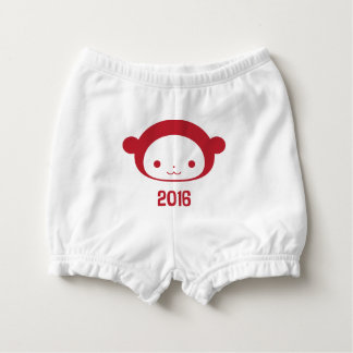 Year of the Monkey 2016 Baby Diaper Cover Nappy Cover