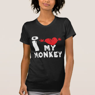 "Year of The Monkey ""I Love My Monkey"" T-Shirt"