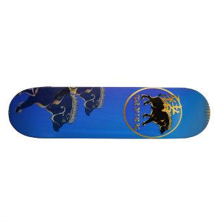 Year Of The Pig-Black Boar Symbol Skateboard
