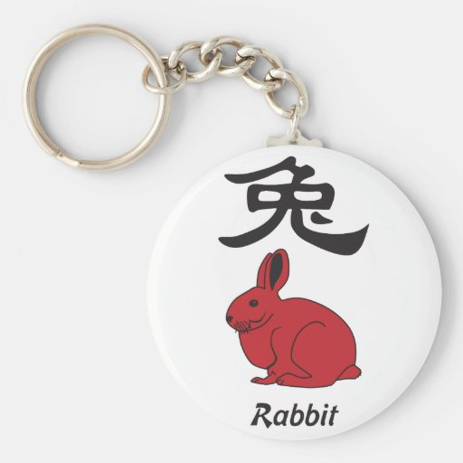 year of the rabbit keychains