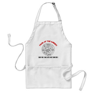 Year of the Rabbit Standard Apron