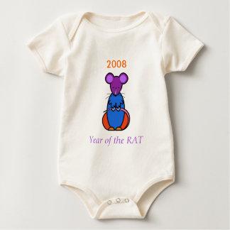 Year of the RAT Baby Baby Bodysuit
