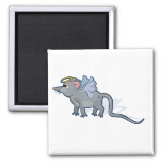 Year of the Rat Heavenly Square Magnet