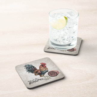 Year of the Rooster Chinese Zodiac Art Coaster