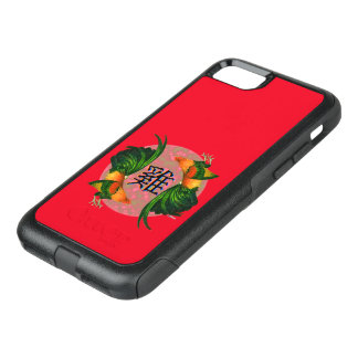 Year of the Rooster Circle OtterBox Commuter iPhone 7 Case