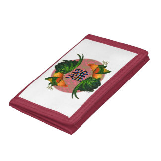 Year of the Rooster Circle Trifold Wallet