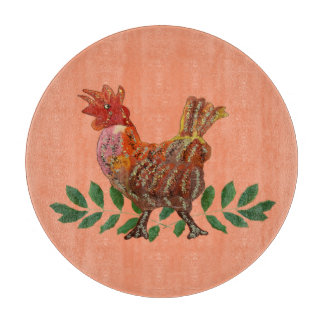 Year of the Rooster Cutting Board