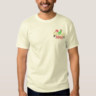 Year Of The Rooster Embroidered T-Shirt