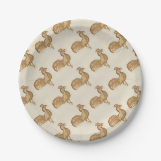 Year of the Rooster Happy New Year 2017 Party Paper Plate