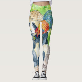 Year of The Rooster Leggings