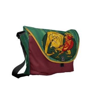 Year of the Rooster Messenger Bag