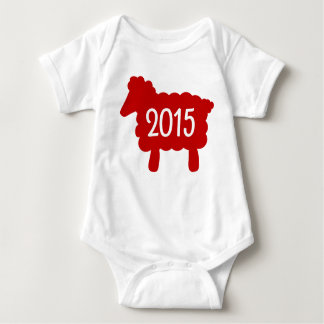 Year of the Sheep 2015 Baby Baby Bodysuit