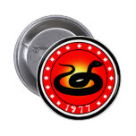 Year of the Snake 1977 Button