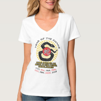 Year of the Snake 2013 Qualities T-Shirt