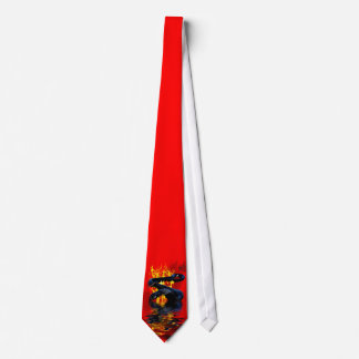 Year of the Snake Black Snake Chinese New Year Tie