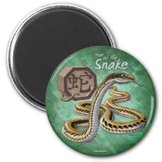 Year of the Snake Chinese Zodiac Magnets