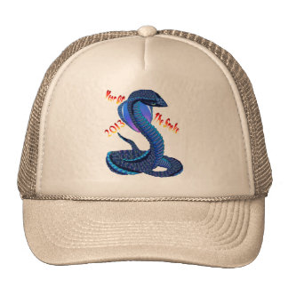 Year Of The Snake-lettered Hat