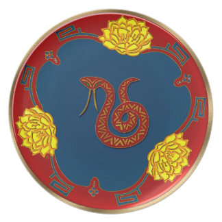 Year Of The Snake (Party Plate) Party Plates