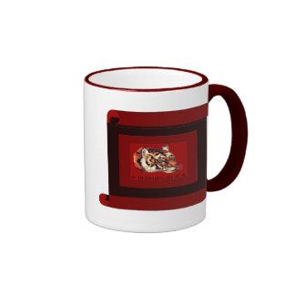 Year of the tiger 2010 ringer mug