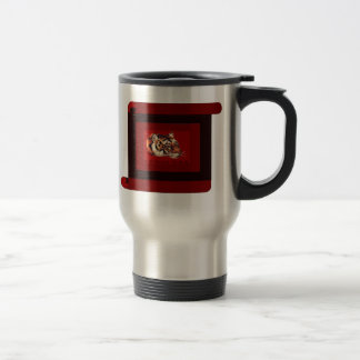 Year of the tiger 2010 stainless steel travel mug
