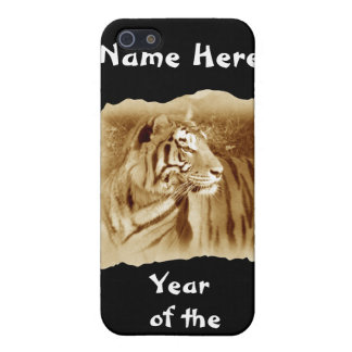 Year of the Tiger-Customize Name iPhone 5 Covers