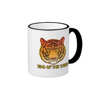 Year of the Tiger Portrait Ringer Mug