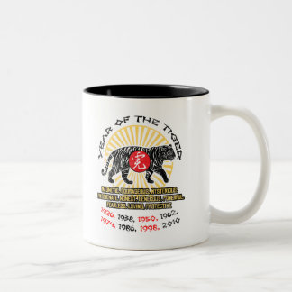 Year of the Tiger Qualities Coffee Mugs